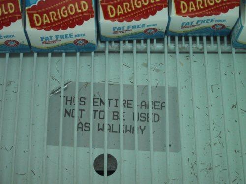 Milk Warning