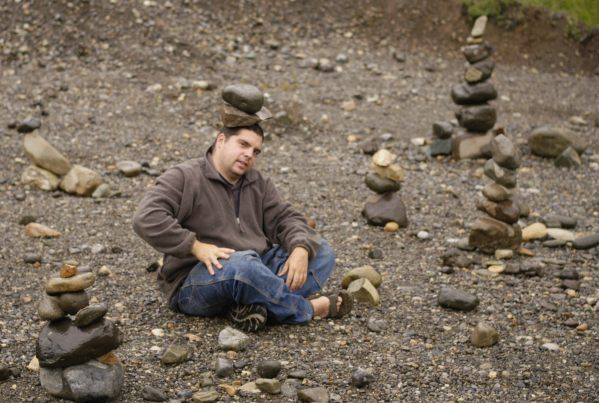 Hanging out with rocks